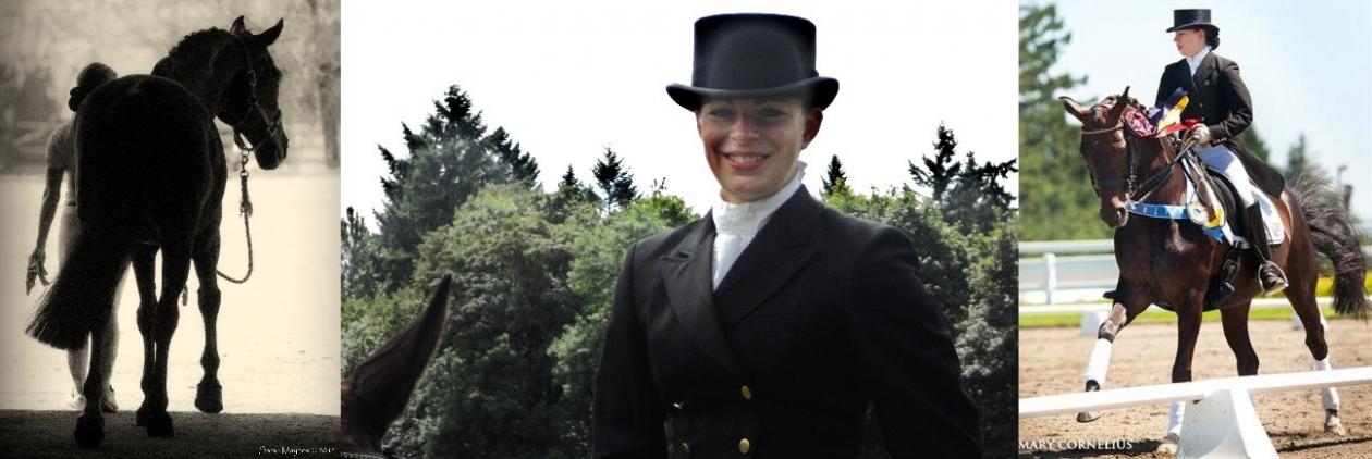 Madeline Kent McKallip at Kent Dressage